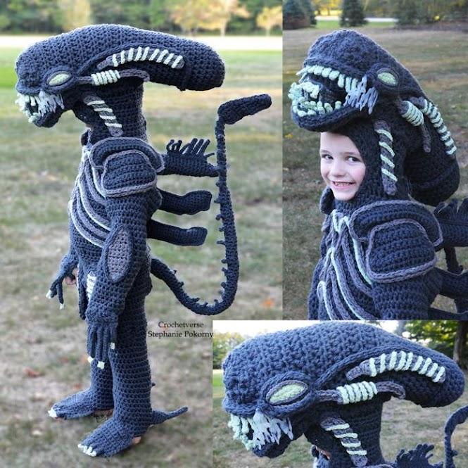 Crochet Cosplay: Alien