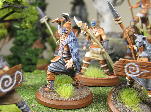 Happy Gorilla Game Studios: Chronicles - Fantasy Miniature Strategy - Forest Tribes Warriors