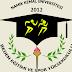 Namık Kemal Üniversitesi Besyo Duyurusu 2017-2018
