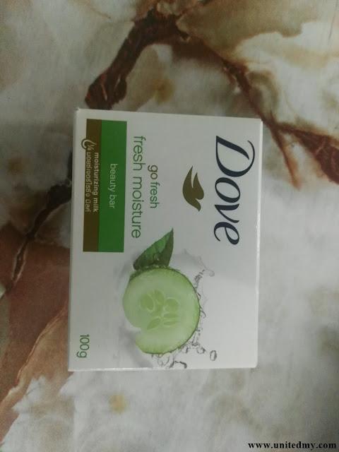 Dove Contains palm oil
