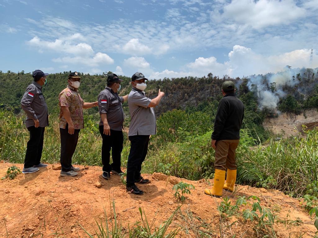 Sidak Ke Kawasan Hutan Lindung, Ketua Komisi III Apresiasi Kinerja Tim Gabungan dalam Mangatasi Kebakaran Hutan