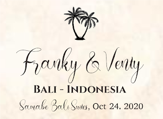 24102020 Franky Venty at Samabe Villas Nusa Dua Bali