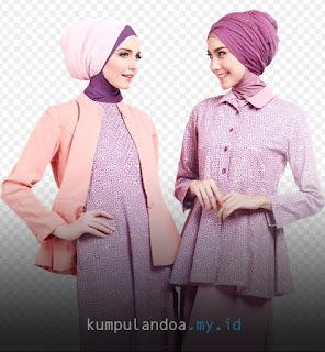 Baju Cantik Setelan Couple Buat Idul Fitri 2017