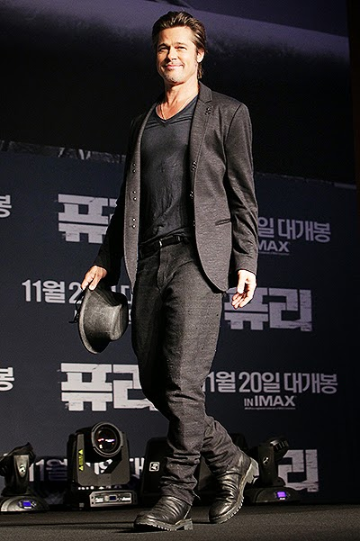 Brad Pitt in Seoul