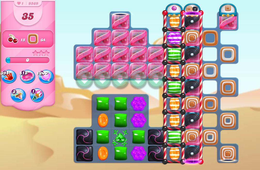 Candy Crush Saga level 9569