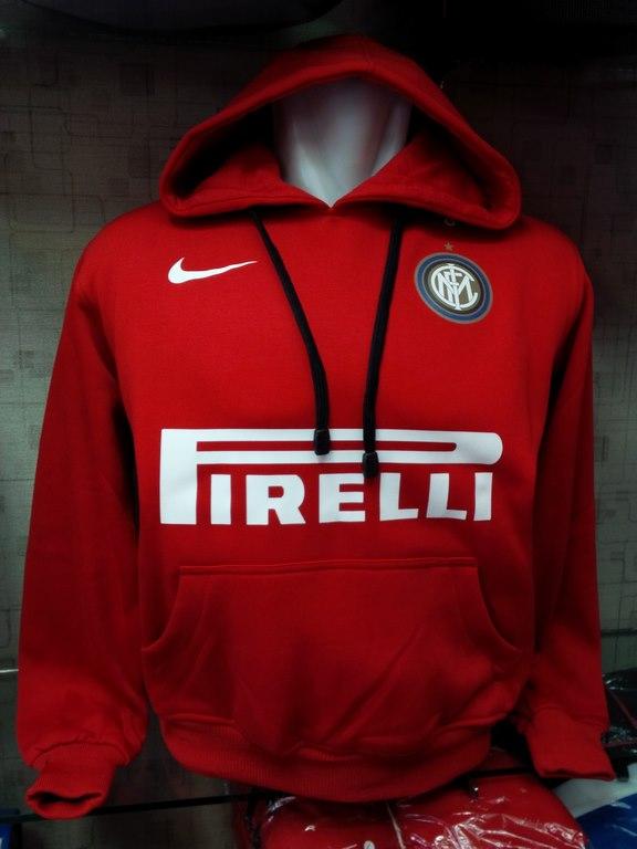 Jual Jaket Hoodie Inter Milan Merah