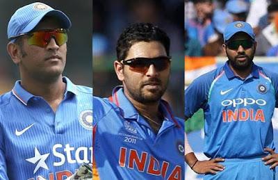 One Day Internationals Indian Players Batting Records Most Sixes In Career