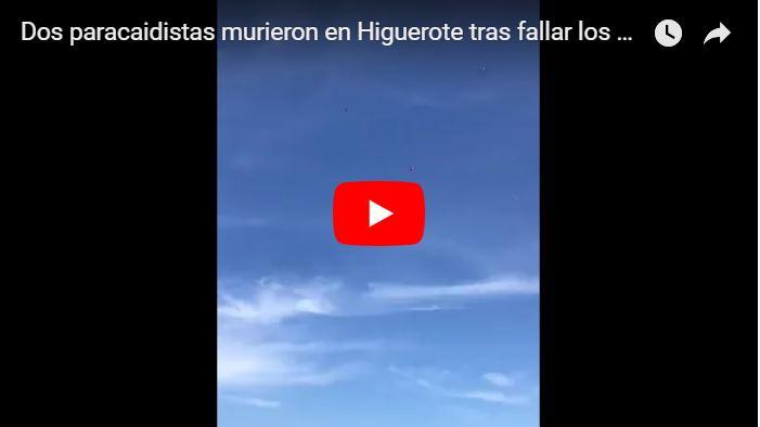 Dos paracaidistas murieron en Higuerote tras fallar los paracaídas
