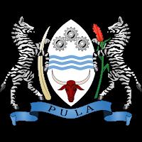 Logo Gambar Lambang Simbol Negara Botswana PNG JPG ukuran 200 px