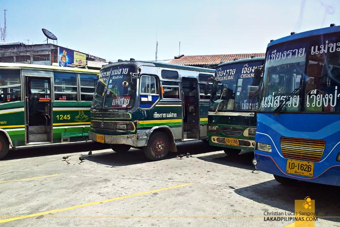 Bus Terminal in Chiang Rai