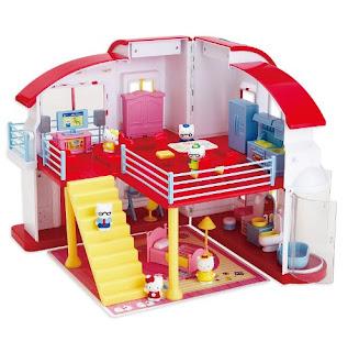 Gambar Rumah Hello Kitty Mainan 3