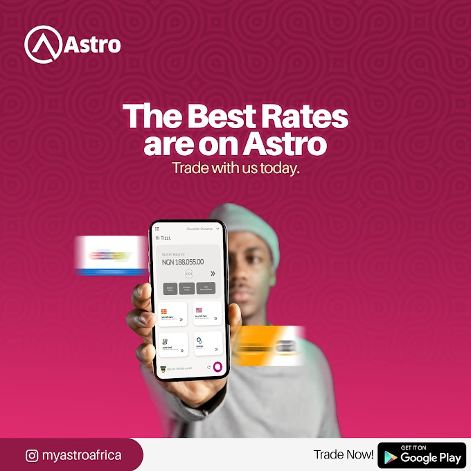 Astro Africa: The fastest platform to trade gift cards for cedis
