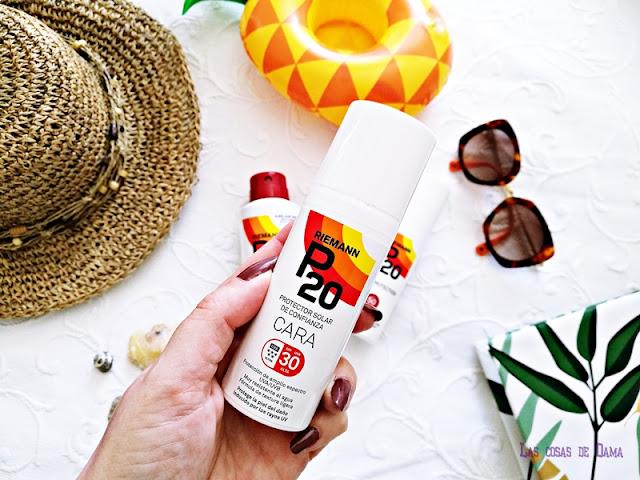 Riemann P20 protección solar alto rendimiento sunprotect beauty salud verano
