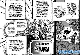 Fakta Kanjuro One Piece