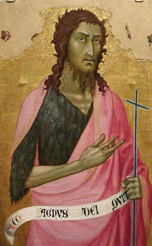 São João Batista, Taddeo di Bartolo, 1362-1422), J Paul Getty Museum