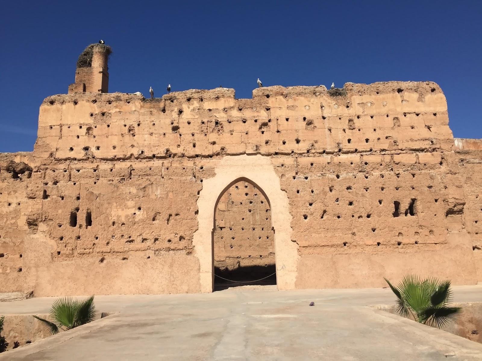 le palais el badii à marrakech
