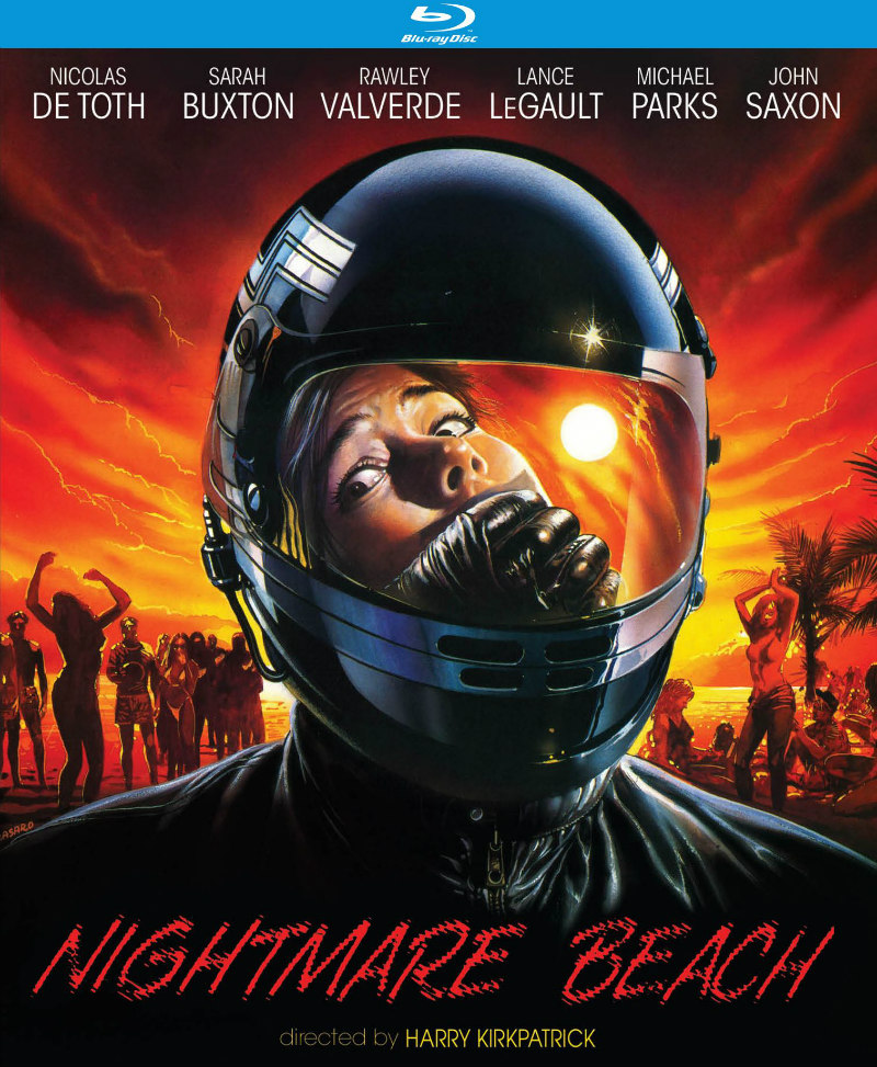 nightmare beach bluray