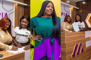 #BBNaija2020: Dorathy Bags Endorsement Deal With Mapia Tea