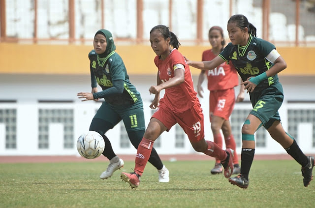 Tim Putri Persija Jebol Gawang PS Tira 2-1