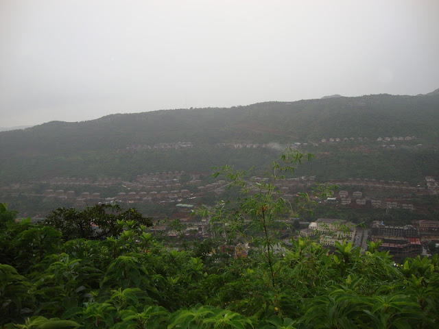 Top view of lavasa city