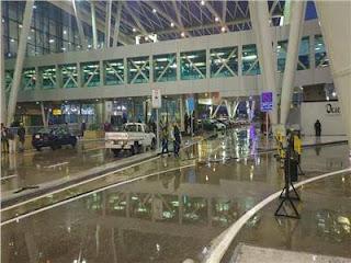 مطار القاهرة يستقبل 627 مصريا عالقا بالسعودية على متن 3 رحلات