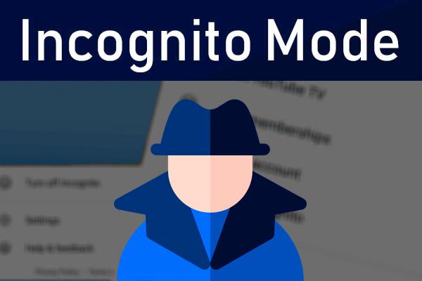 الدخول الى الوضع الخفي لليوتيوب لمنع السجل والكوكيز | Incognito Mode
