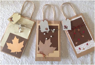Add decorations on your paper gift bags