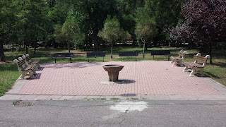 Watering Area , Visitors, Yambol City Park, Yambol, Water Fountain,