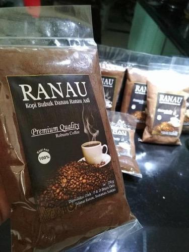 Kopi robusta khas Danau Ranau Sumatera Selatan
