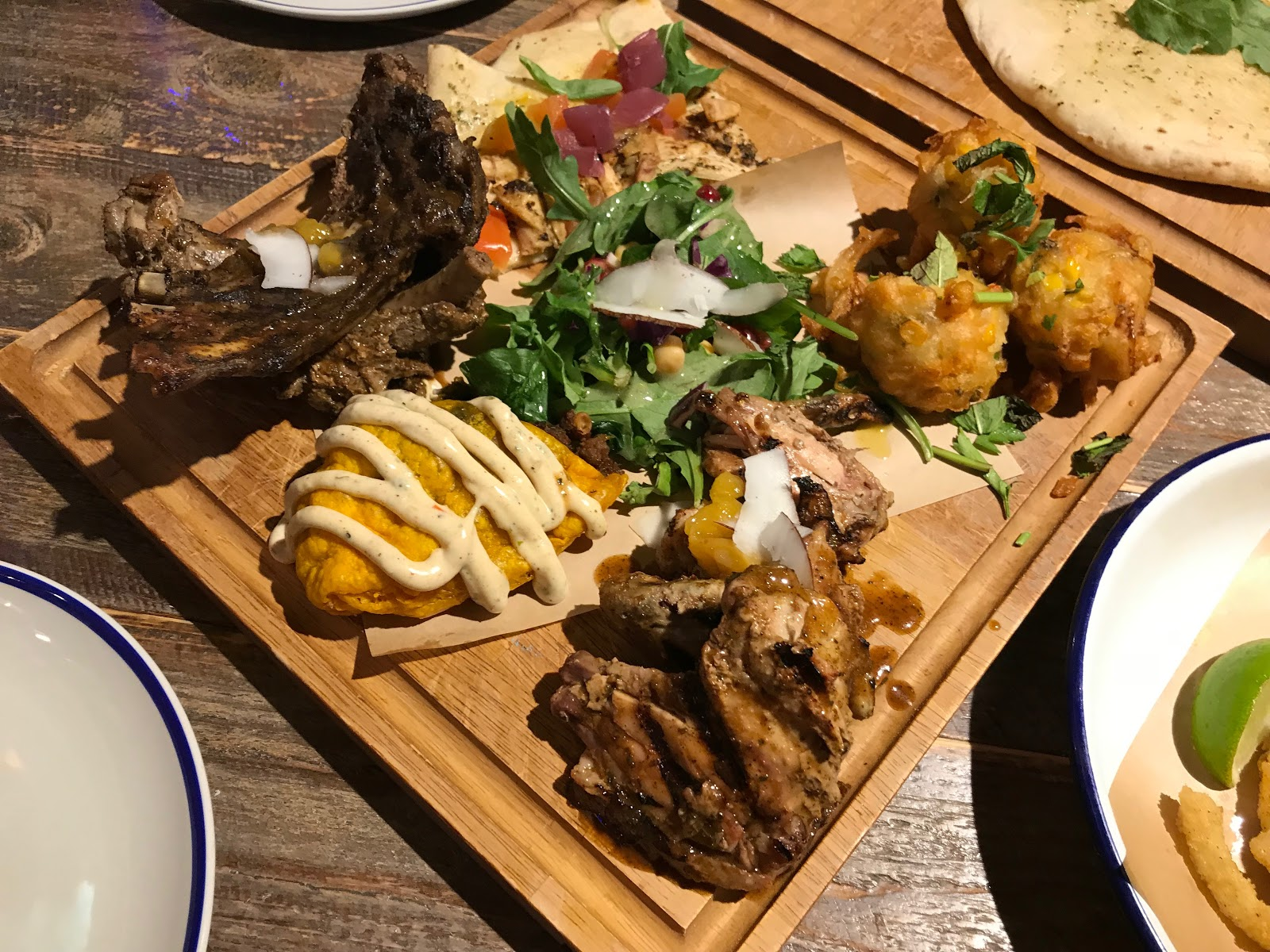 Turtle Bay Meat Platter