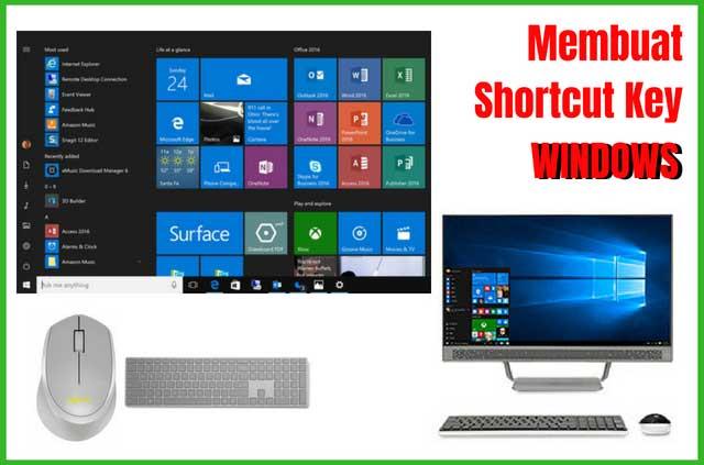 Cara Membuat Shortcut Keyboard Untuk Menjalankan Program Di Windows
