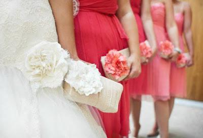 bouquet de mariée fausse fleur