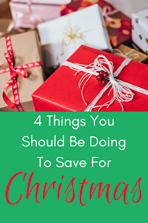 4 things you should be doing to save for Christmas