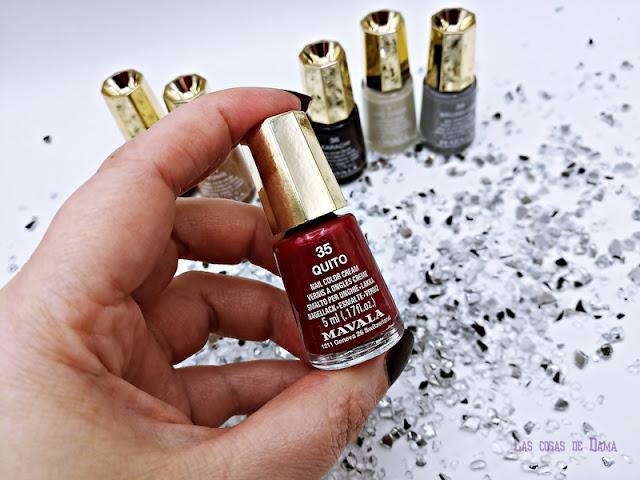 Colección Retro Color's  Mavala manos uñas nails nailspolish beauty belleza manicura