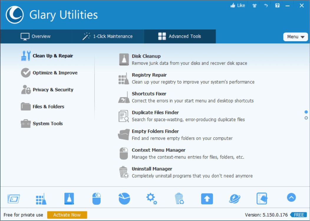 GU Admin Tools Screenshot