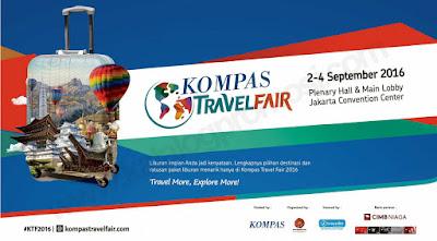 Jadwal Kompas Travel Fair 2016