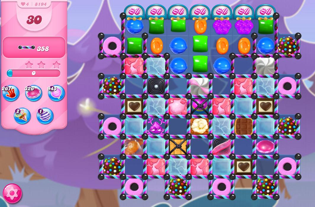 Candy Crush Saga level 8194