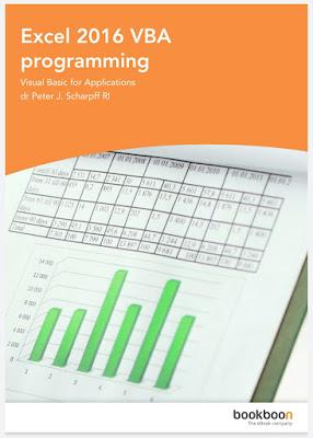 Excel 2016 VBA programming
