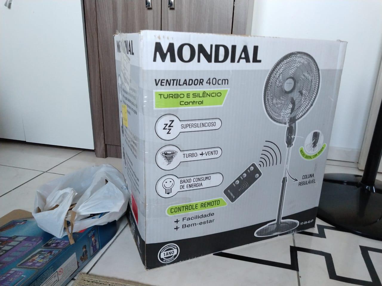 caixa ventilador mondial
