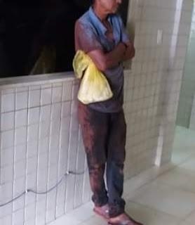 Homem 'pega carona' para Maranhão em trem cargueiro da Vale e detido por seguranças.