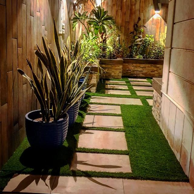 تصميم الحدائق بالعشب الصناعي بالمدينة المنورة