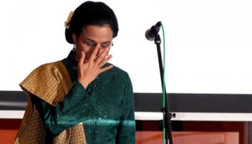 Bu Sri Mulyani, Koper Saya Disita Isinya Ada Baju Kotor