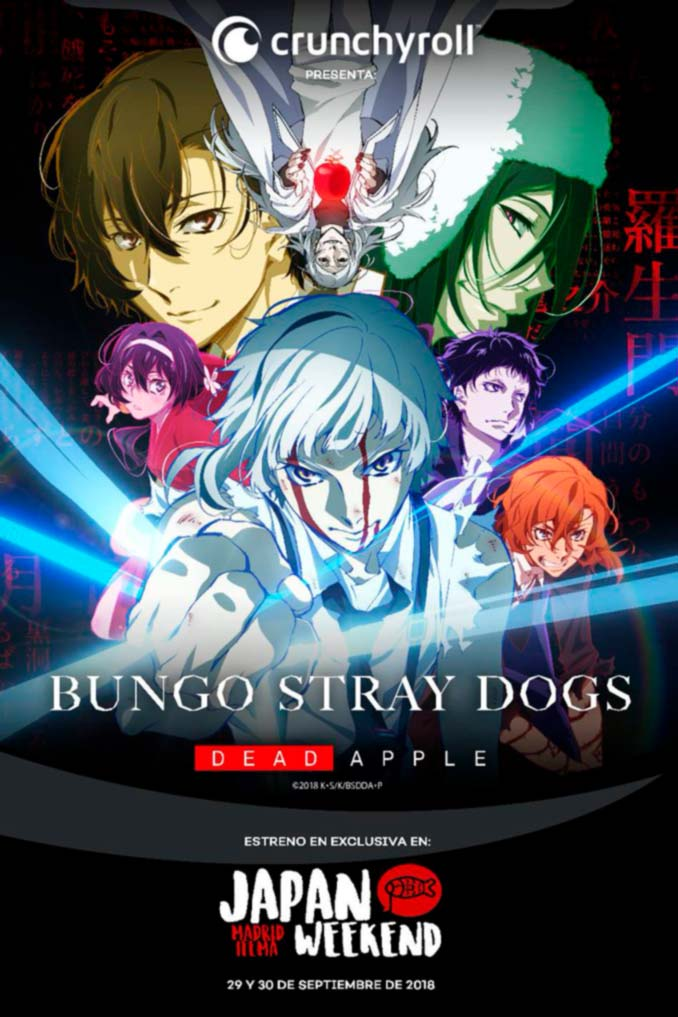 Bungou Stray Dogs: Dead Apple (Crunchyroll) - Japan Weekend Madrid 2018