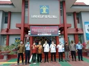 Kepala BNNP Sulbar Sampaikan War On Drugs di Lapas Polewali