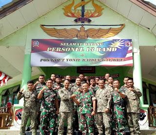 TNI - TDM Kerjasama Perkuat Pengamanan Perbatasan RI - Malaysia