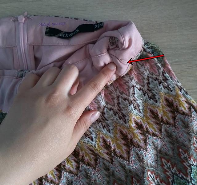 dopasowanie za luźnych spodni w pasie DIY - Adzik tworzy