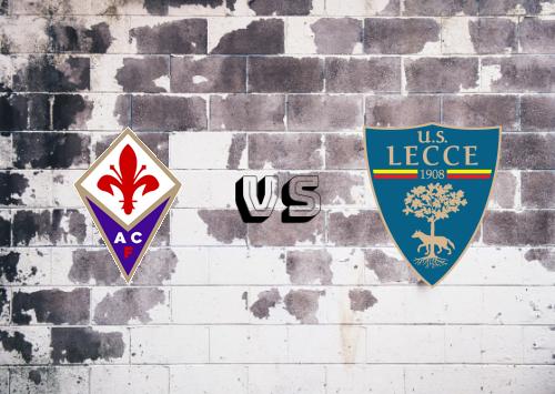 Fiorentina vs Lecce  Resumen
