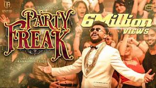 Party Freak Lyrics in English – Chandan Shetty