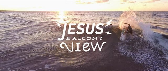 Jesus balcony view