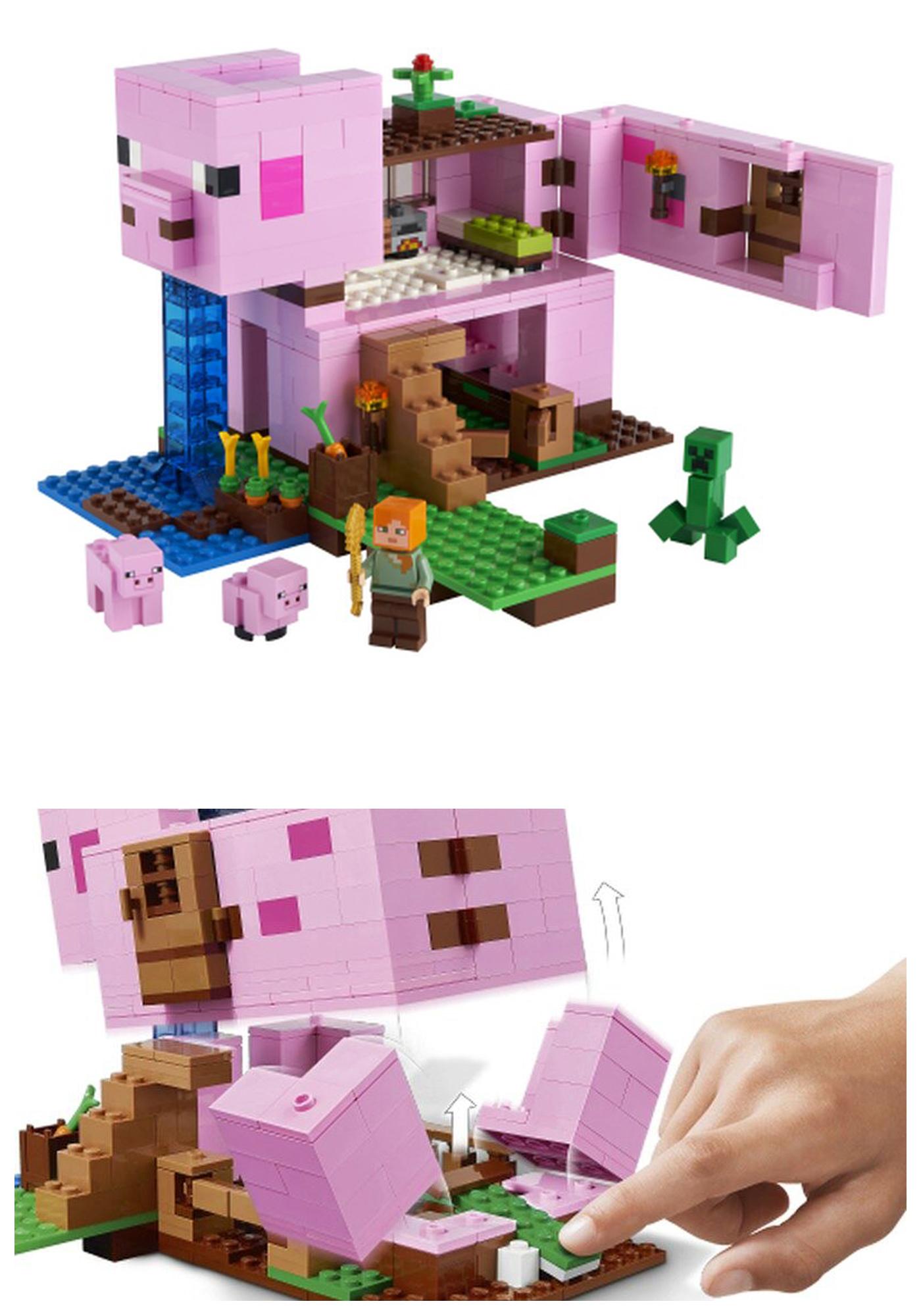 2020年冬のレゴ マインクラフト新製品情報!レゴでマイクラ世界を構築して遊ぼう!